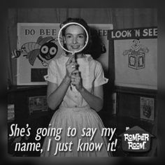 """I was on """"Romper Room"""" a few times around It would be so great to find the vids for that.I would just love for my mother to see it! Remember the mirror! lol Romper Room TV show: """"I see Johnny. and Suzie. and Mary. My Childhood Memories, Great Memories, 1970s Childhood, Family Memories, Romper Room, My Generation, Boomer Generation, Old Shows, My Youth"""