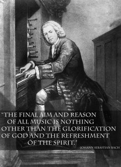 Johann Sebastian Bach inspirational Quotes Poster in A0-A1-A2-A3-A4 sizes