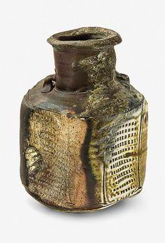 Chester Nealie, wood fired stoneware… - New Zealand & International Studio Pottery - Art+Object - Antiques Reporter