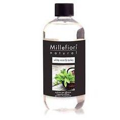 MILLEFIORI MILANO - RICARICA PER DIFFUSORE STICK WHITE MINT E TONKA 500 ML