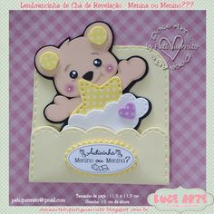 Doce Arte by Pati Guerrato: Doce Arte by Pati Guerrato Baby Shawer, Baby Art, Foam Crafts, Diy And Crafts, Baby Picture Frames, Baby Shower Souvenirs, Elephant Crafts, Baptism Favors, Cute School Supplies