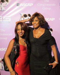 Bobbie Kristina Brown and Whitney Houston