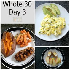 Whole 30 Day 3!!!