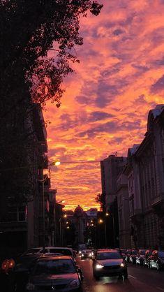 burning skies // Bucharest [os]