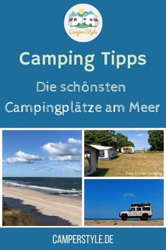 Die schönsten Campingplätze am Meer – Sehnsucht nach Natur und Weite The most beautiful campsites by the sea – longing for nature and space Luxury Camping Tents, Camping Glamping, Camping Hacks, Camping Site, Travel Hacks, Maserati Ghibli, Aston Martin Vanquish, Bmw I8, Rolls Royce
