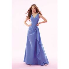 Occasion Dresses V-neck Elastic Woven Satin WPD01177