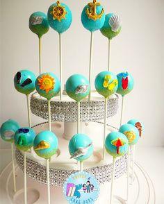Summer Cake Pops