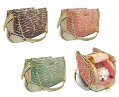 Getaway Shacara Designer Pet Carrier s Dog Cat Puppy Pet Airline Purse Carrier | eBay
