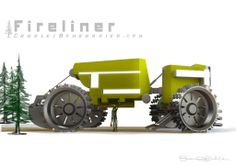 The Fireliner concept created by CharlesBombardier.com