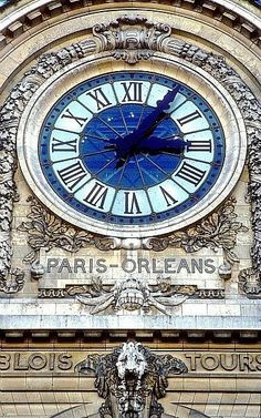 Giant train station clock in the Musée d'Orsay, Paris, France. Favorite Museum in Paris - sorry Louvre! Paris Travel, France Travel, Paris France, Paris Paris, Train Station Clock, Tour Eiffel, Places To Travel, Places To Go, Belle France