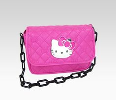 Hello Kitty Shoulder Bag: Hot Pink Quilt - Love it!