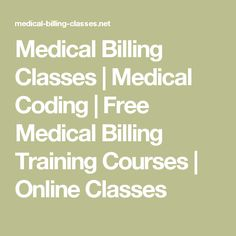 Medical billing and coding cover letter sample no experience medical billing classes medical coding free medical billing training courses online classes altavistaventures Gallery
