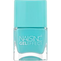 Nails inc Gel Effect Nail Polish, Queens Gardens 0.47 oz (14 ml) (£10) ❤ liked on Polyvore featuring beauty products, nail care, nail polish, nails, fillers, makeup, beauty, nails inc nail polish, nails inc. and gel nail care