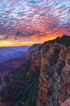 Sunrise from Yavapai Point on the South Rim - Grand Canyon. Pic courtesy of Christian Schroll.