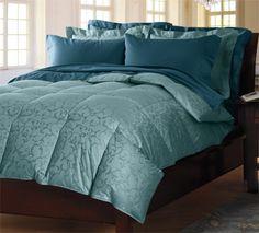 Lofty #Cuddledown Scroll Jacquard 700 Fill Power Duck Down Comforter