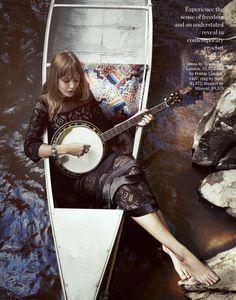 '70s folk goddess: frida gustavsson by cedric buchet for porter #4 fall 2014