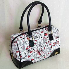 HelloKitty Zipper Handbag Tote Shoulder Bag 2014 New Cute Pu Multi-color #HelloKitty #ShoulderBag