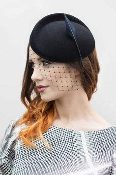 Maggie Mowbray Millinery - Occasion Hat.  #passion4hats