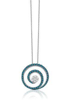 Effy Bella Bleu 14K White Gold Blue and White Diamond Pendant, 1.18 TCW - See more at: http://www.effyjewelry.com/women/necklaces-pendants/effy-bella-bleu-14k-white-gold-blue-and-white-diamond-pendant-1-18-tcw.html#sthash.HY5QRxyj.dpuf