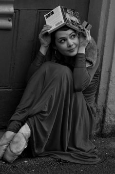 What you seek is seeking you ~Jalaluddin Rumi    II hiding from the rain...in ballet shoes II