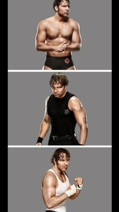 Goes from Jon Moxley to In The Shield as Dean Ambrose Then to his Solo career as Dean Ambrose