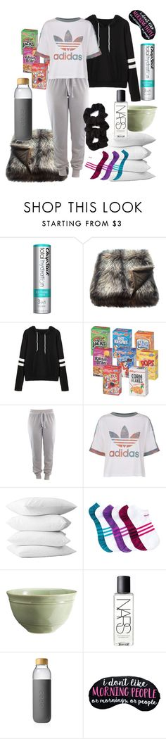 """""""UPDATE: I'm Dead"""" by lovelylilly18 ❤ liked on Polyvore featuring Chapstick, adidas Originals, adidas, Forever 21, Pottery Barn, NARS Cosmetics and Soma"""