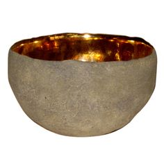 1stdibs - Round Vessel with Gold by Cristina Salusti explore items from 1,700  global dealers at 1stdibs.com