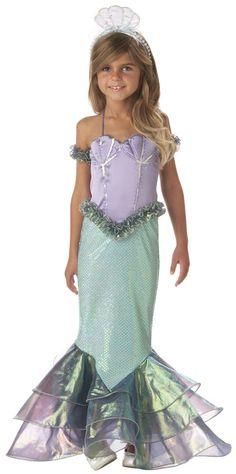 Magical Mermaid Kids Costume @Jean Berglund