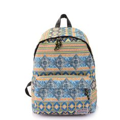 af1ade5f71 Geometry Printed School Bag Travel Backp.