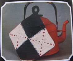 2d0fb59a565d8 Crochet Pot Holder Pattern PDF Instant Download My First Crochet Learn How  To Crochet Boho Hippy Trivet Tea Pot Stand by TassieVintage on Etsy