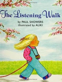 """Five Senses unit We read """"The Listening Walk"""" by Paul Showers. This is a great book to teach awareness of the sounds all around us if we just stop talking and listen. A, Bee, C, Preschool Kindergarten Music, Teaching Music, Teaching Writing, Teaching Spanish, Science Writing, Kindergarten Curriculum, Primary Teaching, Kindergarten Graduation, Teaching Science"""