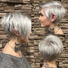4 Grand Tips AND Tricks: Brunette Hairstyles Cat Eyes waves hairstyle step by step.Cute Fringe Hairstyles feathered hairstyles for fine hair.Older Women Hairstyles For Fine Hair. Latest Short Hairstyles, Short Pixie Haircuts, Cute Hairstyles For Short Hair, Hairstyles Haircuts, Bob Haircuts, Haircut Short, Short Pixie Bob, Latest Haircut, Curly Short