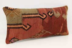 Traditional Lumbar Kilim Pillow Cover 12 x 24 Wool Pillow Cover Knitting Pillow Bohemian Pillow Vintage Pillow Upholstery Pillow by kilimwarehouse on Etsy Wool Pillows, Throw Pillows, Handmade Pillow Covers, Vintage Pillows, Bohemian Pillows, Upholstery, Reusable Tote Bags, Traditional, Knitting