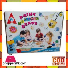 On Sale: Paint Ceramic Beads for Kids in Pakistan Price Rs. 650 https://www.shopperspk.com/product/paint-ceramic-beads-for-kids/