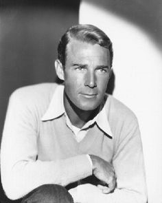 Randolph Scott! He and Cary Grant were the best of friends!