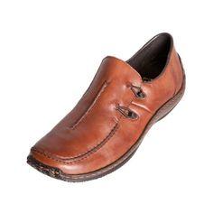 RIEKER CELIA L1751 24 Ladies Womens Brown Slip On Shoe