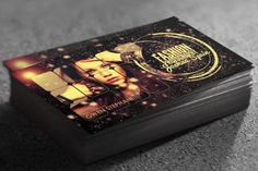 Awesome creative fashion photographer business cards psd template, design by Sherman Jackson.