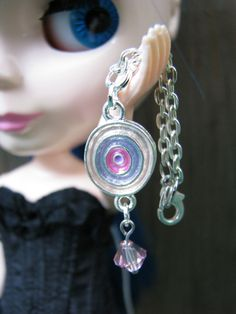 Doll Necklace by finasma. #pullip #blythe #monsterhighdoll #dollnecklace #dolljewelry #dal