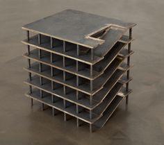 """ronulicny: """"Parking Garage (S)"""", 2011 By: RITA MCBRIDE…."""