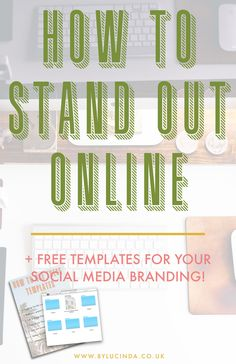 Ever wondered why people use the term 'brand you'? As cringey a term as it is, creating your own UNIQUE, COHESIVE and CONSISTENT branding identity and strategy is up there with the most important aspects of running a creative blog or business. Find out more about why self-branding is SO crucial, and download my free social media branding templates by clicking through this pin!