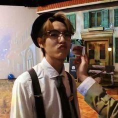 Nct Dream, Brown Aesthetic, Huang Renjun, Dream Chaser, Creepy Cute, Meme Faces, Kpop Boy, Boyfriend Material, Jaehyun