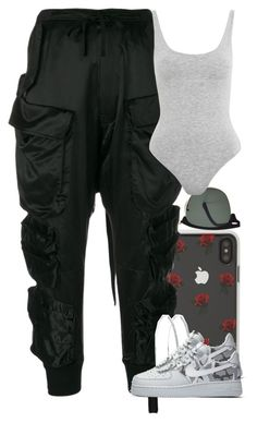 """Untitled #5642"" by dianna-argons-lover ❤ liked on Polyvore featuring Sonix, Ray-Ban, Unravel, Topshop and NIKE"