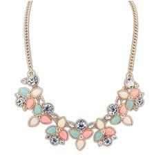 Brand Designer Chain Choker Vintage Rhinestone Necklace Bib Statement Necklaces & Pendants Women Jewelry - Mopixie Store | Mopixiestore.com