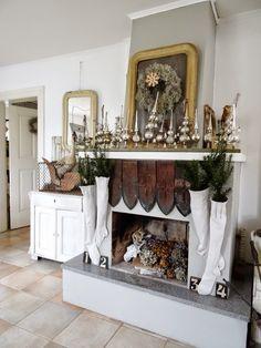 DIY Kaminumrandung Schön Zu Weihnachten Dekorieren | Kamin | Pinterest |  Woods And House