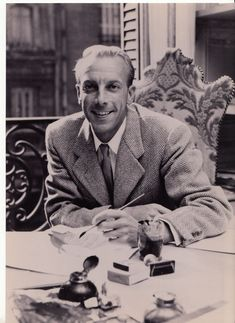 Jacques Fath- A French fashion designer, he was known for his unique fabric choices and shapes. During his popularity he dressed the likes of Ava Gardner, Greta Garbo, and Rita Hayworth. Jacques Fath is today considered one of the three most dominant influences on postwar haute couture.