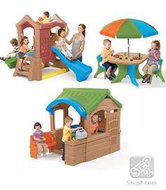 Play Up Playhouse & Climber Toddler Play Set | Outdoor Play | Step2