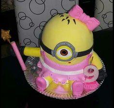 Torta minions nena