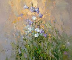 Bellflowers #4 - Alexi Zaitsev - Sale of paintings and other art works