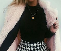 #style #fashion #fur #clothes #spring