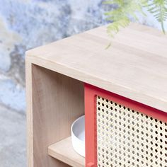 Straw Sideboard by Colonel